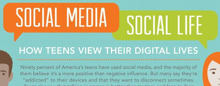 "the influence of media on teenagers Since ""social media"" hit the market, popular culture has become a major part of  the average teenager's daily life web articles support the idea."